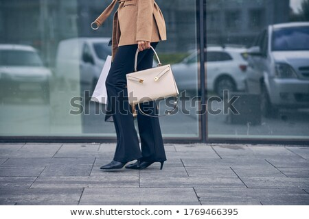 Elegant slender businesswoman Stock photo © dash