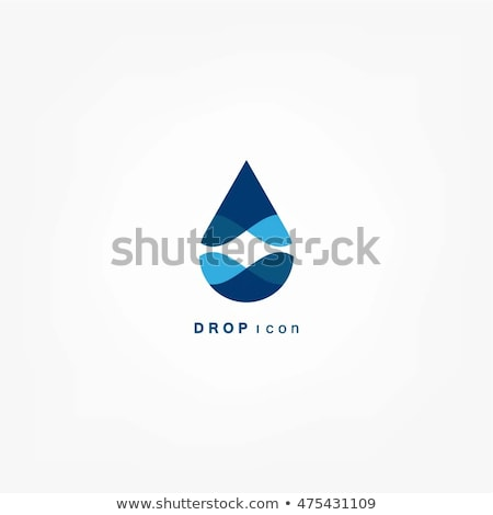 Stock fotó: Pure Water Logo
