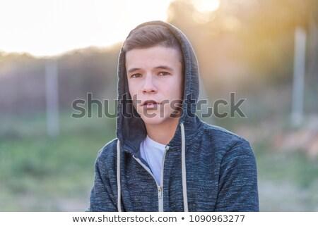 felice · giovani · casuale · uomo · bianco - foto d'archivio © feedough