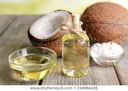 Stock fotó: Coconut Oil For Alternative Therapy