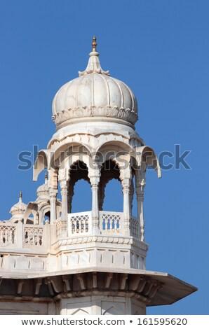 Stockfoto: Fragment Of Jaswant Thada Mausoleum In India