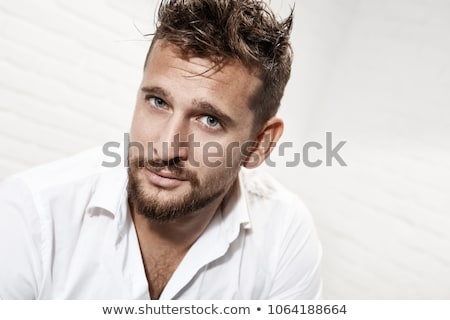 Portrait of good-looking man Stock photo © curaphotography
