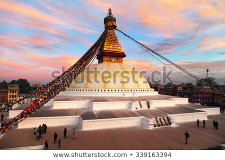 Bodhnath stupa in Kathmandu, Nepal Stock photo © dutourdumonde