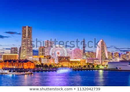 Иокогама · город · Япония · бизнеса · здании · морем - Сток-фото © vichie81