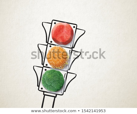 Stock photo: Nutrition choice.