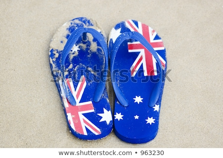 Australian Sandals Stock photo © leetorrens