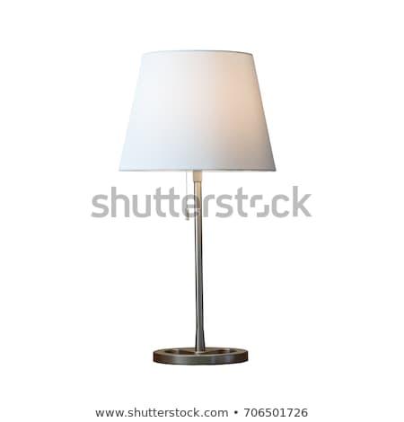Bed lamp Stock photo © scenery1