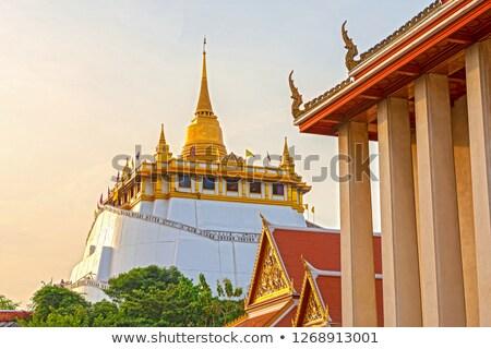 Buddha image at Wat Sraket Stock photo © sundaemorning