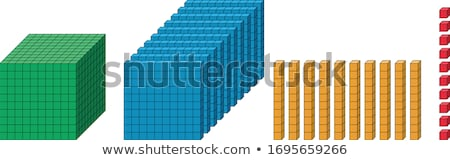 ten childs wooden blocks stock photo © michaklootwijk