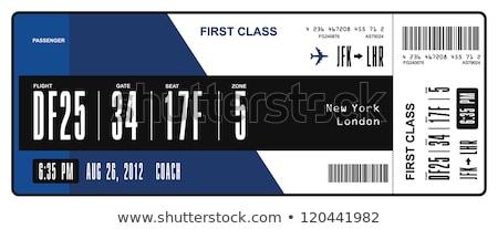 Two boarding passes Stock photo © Hofmeester