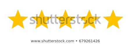 Stock photo: Five stars ratings