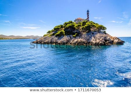 Small island by the coast stock photo © olandsfokus