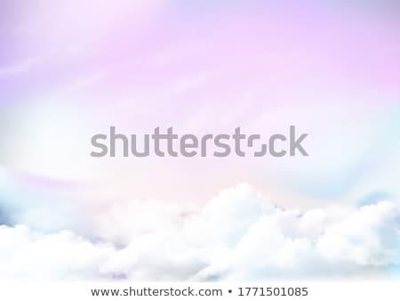 Watercolor rainbow backgound stock photo © gladiolus