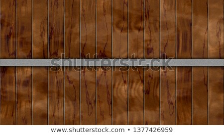 seamless texture of color wooden planks - barrel or fence Stock photo © jarin13