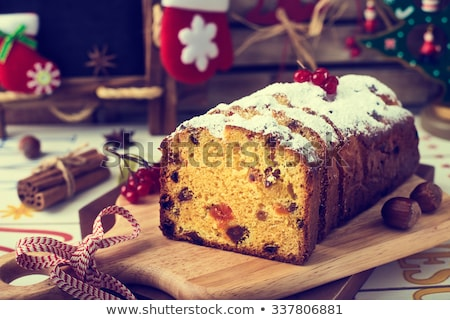 フルーツケーキ 食品 ケーキ デザート お祝い ストックフォト © M-studio