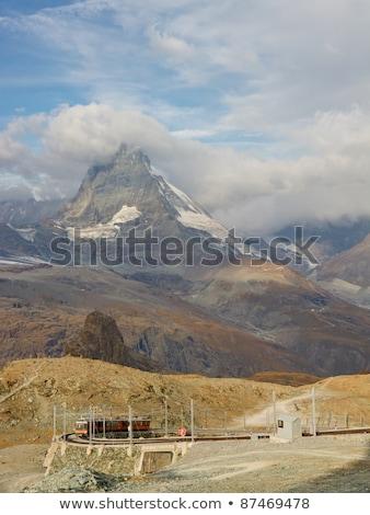 Alpino montanha acima neve frio Foto stock © chrisga