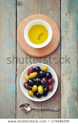 different kinds of olive oil stock photo © marimorena