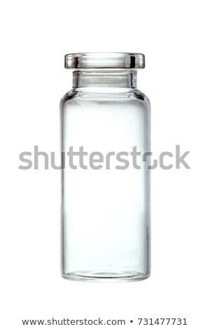 Medici liquido medicina pronto vaccino iniezione Foto d'archivio © Klinker