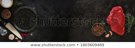 rundvlees · vlees · slager · smakelijk · Rood - stockfoto © klinker