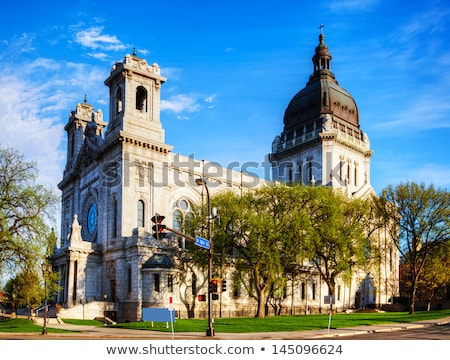 Basilica of Saint Mary in Minneapolis, MN Stock photo © AndreyKr