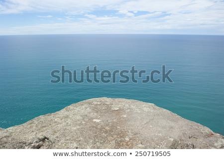 Steep rocky cliffs in remote ocean of Tasmania Stock photo © roboriginal