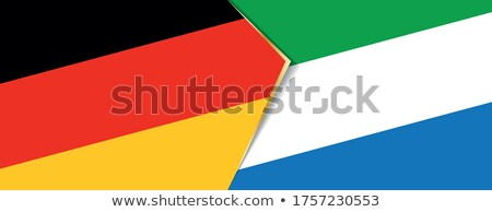 Germany and Sierra Leone Flags  Stock photo © Istanbul2009