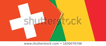 Switzerland and Mali Flags  Stock photo © Istanbul2009