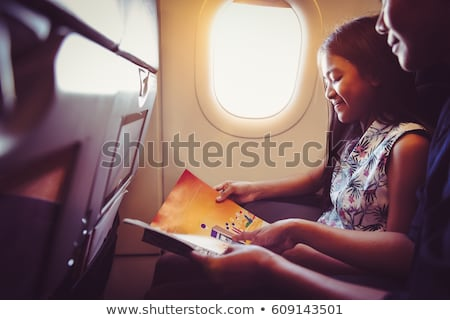 child airplane book stock photo © paha_l