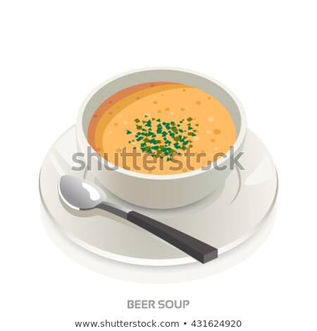 Creamy homemade French onion soup Stock photo © ozgur
