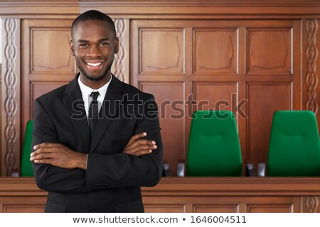 Midsection Of Attorney Stock photo © AndreyPopov