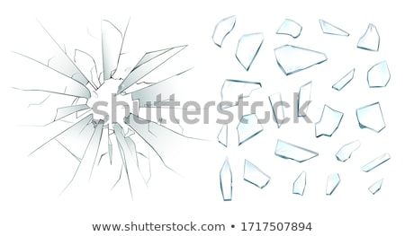 broken piece of glass background Stock photo © sirylok