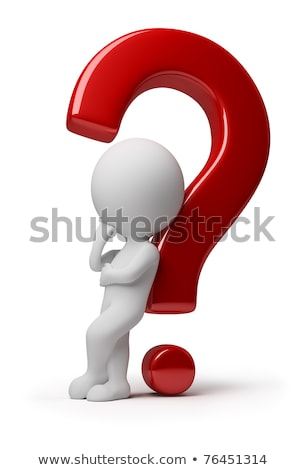 3D Small People - Question Answer Stock photo © AnatolyM