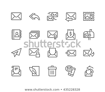 Secure Mail Icon Stock photo © WaD