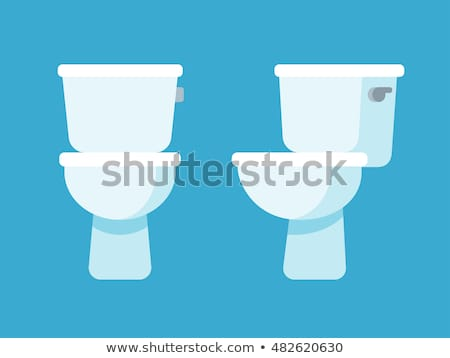 toilets in flat style stock photo © biv