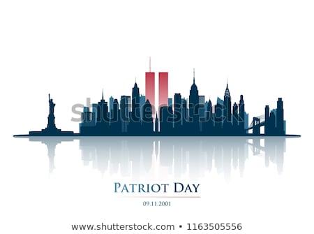 patriot day september 11 statue of liberty stock photo © m_pavlov