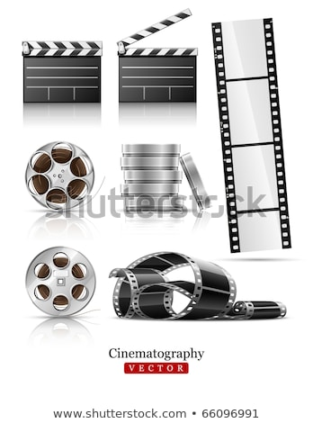 Film tape cinematografie video film schijf Stockfoto © LoopAll