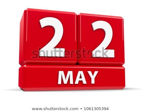22nd may stock photo © oakozhan