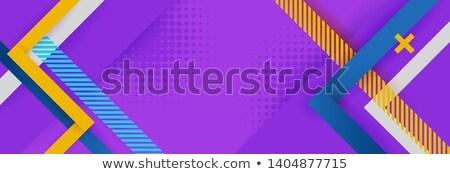 Narancs lila átló vonalak Stock fotó © SArts
