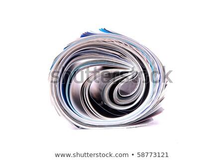 tekert · újság · főcím · black · friday · akciók · üzlet - stock fotó © kayros