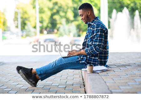 Studying outdoors. Stock photo © Fisher