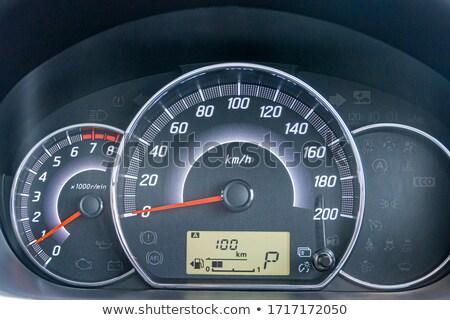 tachometer of car Stock photo © ssuaphoto