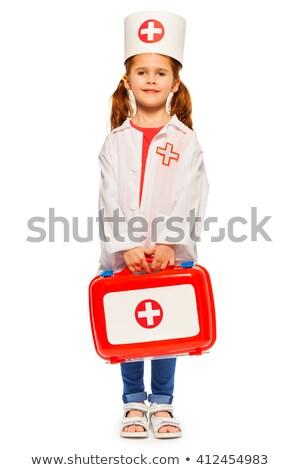 girl dressed as nurse Stock photo © IS2
