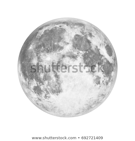 solar system   moon isolated planet on black background stock photo © nasa_images