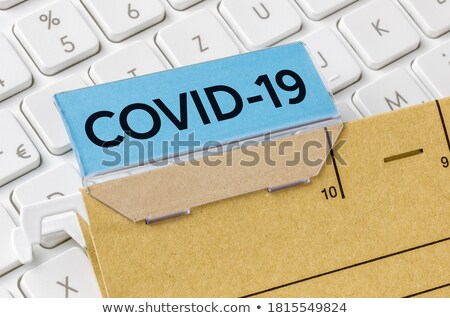 File Folder Labeled as Danger. Stock photo © tashatuvango