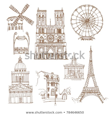 carousel in france stock photo © givaga