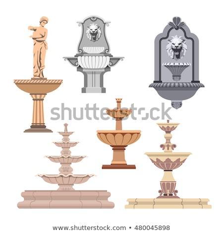 Сток-фото: греческий · старые · ретро · лев · декоративный · декоративный