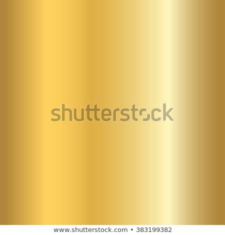 Golden metallic abstract background, modern vector gradient style, luxury bright foil stock photo © kurkalukas