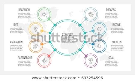 Persone squadra infografica modello società gerarchia Foto d'archivio © orson