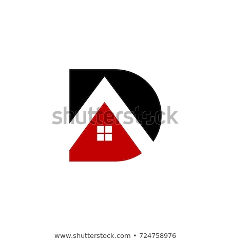 家 · ロゴ · 文字d · にログイン · テンプレート · 建物 - ストックフォト © taufik_al_amin