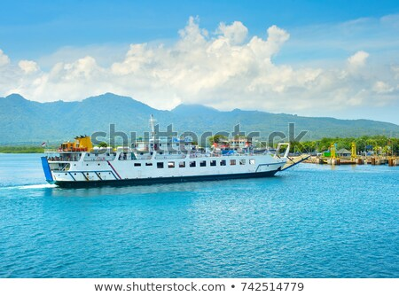 Bali Java ferry transportation, Indonesia Stock photo © joyr